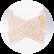 Бандаж грыжевой пупочный для детей от 1 года до 7 лет ORTO БГ-102