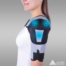 Бандаж для плечевого сустава с аппликаторами биомагнитными медицинскими Крейт А-600