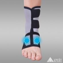Бандаж для голеностопного сустава с аппликатором биомагнитным медицинским Крейт А-250