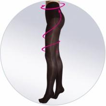 Колготки женские полупрозрачные PUSH-UP ORTO 122