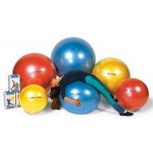 """Мяч """"Body ball """" с BRQ 55 см (красный) ORTO 90.55"""