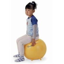 "Мяч ""Sit 'n' Gym "" с BRQ 45 см (желтый) ORTO 89.45"