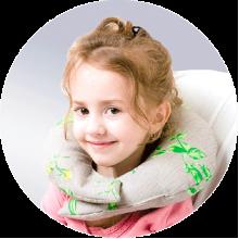 Подушка для путешествий детская ORTO ППД031 ПасТер