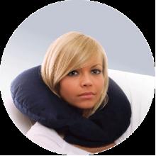 Подушка для путешествий взрослая ORTO ППВ030 ПасТер