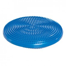Массажная балансировочная подушка (33х2,5, синяя) Тривес М-511