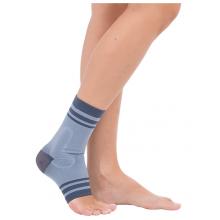 Бандаж компрессионный на голеностопный сустав с сил. Вставками (3D вязка) Тривес Т-8611